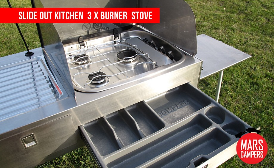 Trailer Outdoor Kitchen Slide Out U0026 Mars Spirit Deluxe Camper Trailer Sales  Geelong Pattos